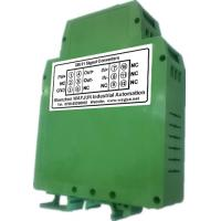 Buy cheap 3000VDC isolation Converter NPN to PNP transmitter, sine wave shaping green DIN35 signal converter from wholesalers