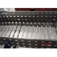 Buy cheap Galvanized Perforated Steel Trench Ladder Cable Tray Roll Forming Machine from Wholesalers