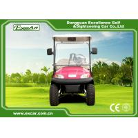 Buy cheap Pink Open Cargo Trojan Battery Electric Golf Vehicle Curtis Controller 3700W from wholesalers