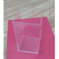 Buy cheap Retail Small Acrylic Tableware Transparent Shoe Boxes Without Lid For Storage from Wholesalers