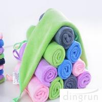 Buy cheap Full Printing Custom Microfiber Towels Absorbent AZO Free Easy Dry from Wholesalers