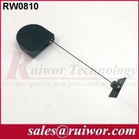 Adhesive ABS Plate Display Security Tether D - Shaped For Purchase Security