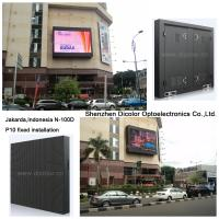 Buy cheap Indonesia P10 Outdoor Led Display Screen Advertising Board In Jakarda from Wholesalers