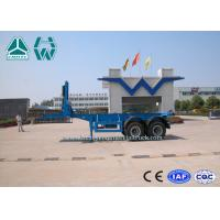 Buy cheap 2 Axles 20ft / 40ft Transport Container Tipper Semi Trailer Sinotruk Huawin from Wholesalers