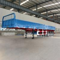 China 3 Axle semi trailer with Side wall  | CIMC trailers China on sale
