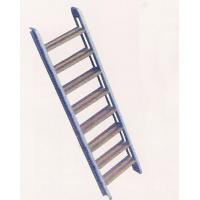 China Aluminum Boarding Ladder Swimming Pool Inclined Ladder 50kgs Max. Load on sale