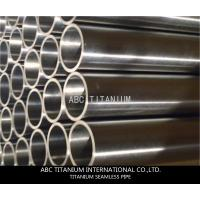 China titanium terracotta pipe /titanium heat exchanger/exhaust pipe/titanium price per kg on sale