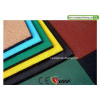 Buy cheap Recycled Playground Rubber Mats / Sport Court Flooring 50*50*2cm from Wholesalers