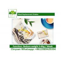 China Low Calorie Meal Supplement Shakes , Solid Beverage Fast Weight Loss Diet on sale