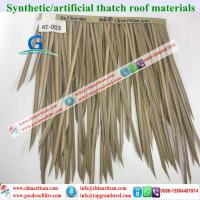 Buy cheap Synthetic tiles  exported to SOUTH-AFRIC Synthetic thatch  look similar to natural thach from Wholesalers