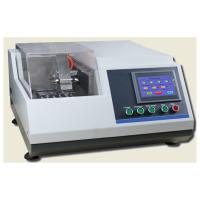 Buy cheap φ60mm Section Metallographic Equipment  Abrasive Cutter For Material Electronic Element from Wholesalers