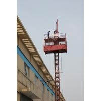 Buy cheap Construction Hoist Elevator , Cargo Lifts With 22m/min Rated Lifting Speed from Wholesalers