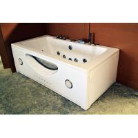 Buy cheap High End Jacuzzi Whirlpool Bath Tub With Underwater Light And Ozone Generator from Wholesalers