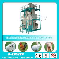 Buy cheap CE Approved SKJZ1800 (0.5-2t/h) mini chicken feed pellet plant with best quality for Sale from wholesalers