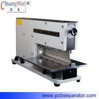 Buy cheap Pneumatic V Cut Pcb Separator With Two Japan High Speed Steel Linear Blades from Wholesalers