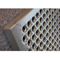 Buy cheap Aluminum Grip Strut Plank Metal Safety Grating Q235 Perforated Stairs Trends Grating from wholesalers