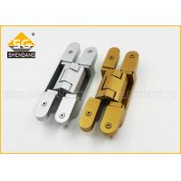 Quality 180 Degree 3d Adjustable Invisible Door German Hinges Of GB Zinc Alloy for sale