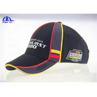Quality Munti- Panel Polyester Embroidered Baseball Caps , Women or Man Large Baseball Hat wholesale