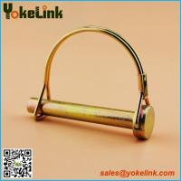 Zinc Plating Round Double Wire Snapper Pin, Round wire lock pins
