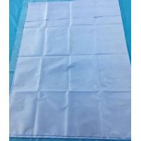 Buy cheap Light Blue Disposable Medical Drapes SMS / SMMS Material Water Resistance from Wholesalers