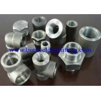 Buy cheap Steel Forged Fittings A182 F51, F52 , F53 , F55 , Elbow , Tee , Reducer , Nipple, 3000LB  ANSI B16.11 from Wholesalers
