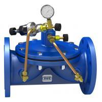 Buy cheap Brass 2 way hose splitters with valve from Wholesalers