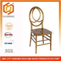 Buy cheap PC Resin Gold Phoenix Chair Modern Recyclable Strength For Special Events from wholesalers