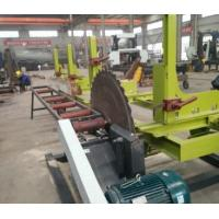 Buy cheap Portable Wood Cutting Circular Saw Sawmills With Manul/Automatic Log Carriage from wholesalers
