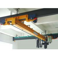 Buy cheap Electric Hoist Single Girder Overhead Crane , Workstation Overhead Travelling Crane from Wholesalers