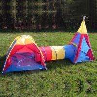 Buy cheap Kids Tent (1 Dome Tent & 1 Pop-up Tunnel & 1 Teepee) from Wholesalers