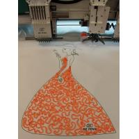 Buy cheap Tapping / Coiling mixed computerized embroidery machine for clothing shirt from wholesalers