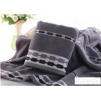 Buy cheap Jacquard Style Microcotton Bath Towels Natural Anti Bacterial 400 Gsm from Wholesalers