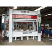 Buy cheap Furniture Making Automatic Woodworking Machinery Hydraulic Wood Press 8 Layers from wholesalers