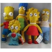 Buy cheap The Simpsons Stuffed Animals Cartoon Plush Toys , Polyester Material from Wholesalers