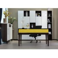 Buy cheap E1 Grade Modern Commercial Office Furniture , Home Computer Desks Lacquer Painting from Wholesalers
