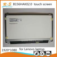 Quality AUO B156HAK02.0 15.6 Touch Panel , 1920*1080 IPS Lcd Lenovo Laptop Touch Screen wholesale
