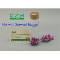 Buy cheap 0.01% SL Seaweed Extract In Agriculture Homo Brassinolide Mix For Inceasing Yield from Wholesalers