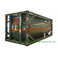 Buy cheap 316 Stainless Steel ISO Tank Container 20 FT For Hazardous Liquids Road transport from wholesalers