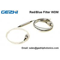 Buy cheap C band DWDM Red/Blue Filter WDM device 3 Port  Thin Film Filter FWDM from Wholesalers