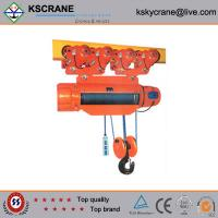 Buy cheap Attractive and reasonable price Material Handling 10ton Rope Electric Hoist With Electricity Power from Wholesalers