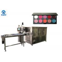 Buy cheap Pan Lipstick Filling Machine , Gear Pump Color Cosmetic Filling Equipment from wholesalers