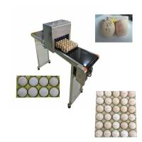 Buy cheap Automatic Egg Code Printing Machine , Small Character Inkjet Coder For Eggs from Wholesalers