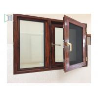 Buy cheap Thermal Break Aluminium Casement Windows Customized Color Heat Insulation Profiles from wholesalers