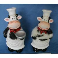 Pottery Cow Cover with Furs
