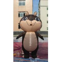 Quality Brown Squirrel Inflatable Advertising Costumes For business Show , EN71 wholesale