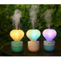 Buy cheap Mini Humidifier 7 Color Night Light Ball Cactus Air Humidifiers USB Desktop Humidifier for Car from Wholesalers