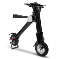Quality Car portable black 3.5h Charging Time folding electric scooter for adult wholesale