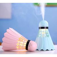 Buy cheap Portable Cool Mist Mini Badminton Humidifier 240ML USB  Badminton Car Humidifier from Wholesalers