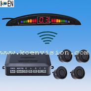China Installation Easy Wireless Car Reversing Sensors KW4-E07 on sale