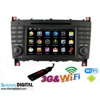Buy cheap Mercedes BENZ GPS Navigation With Android Double Din DVD Audio Radio from Wholesalers
